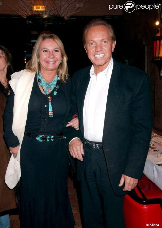 Frank Alamo et sa femme Claudy à Paris, le 1er décembre 2005.