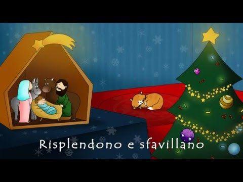 Canzone Di Natale Stella Cometa Testo.Canzoni Di Natale Oh Albero Video Con Testo Che Scorre Versione
