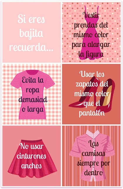 5 consejos para bajitas/ 5 tips for short girls
