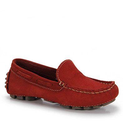 Sapato Mocassim Infantil Metropolitan Kids - 28 ao 35 - Vermelho