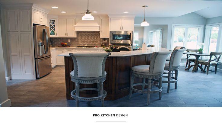 Prokitchendesign #customkitchen #custommade #fulloverlay #island Mesmerizing Pro Kitchen Design Inspiration Design