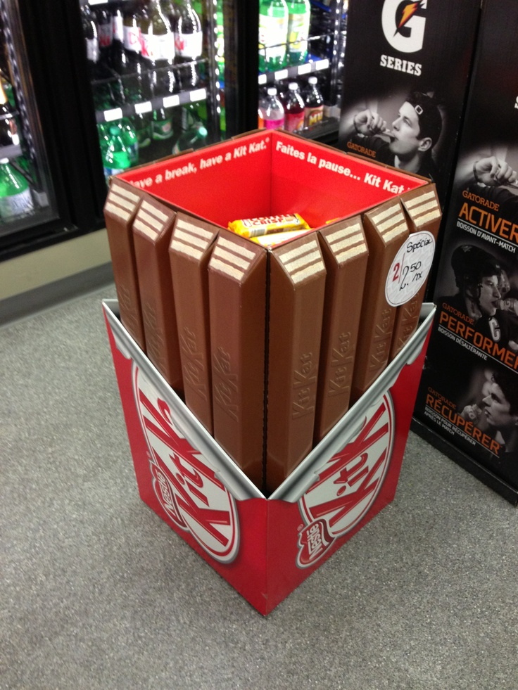 Exhibition Stand Kits : Pop up display kit kat retail stores pinterest
