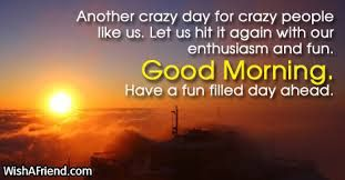 good morning sms about life