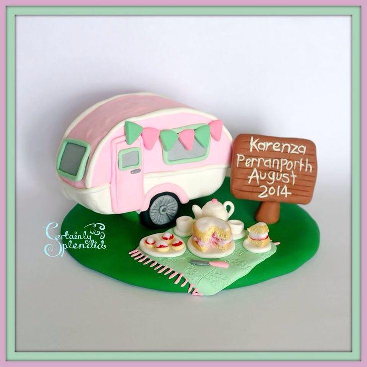 1000 Images About Caravan Cakes On Pinterest Happy
