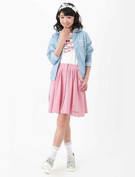 2016 春の通学コーデ ☆小学生ファッション スタイルの参考コーデ☆