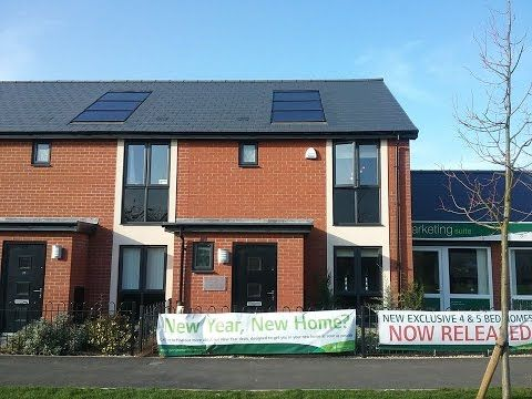 Persimmon homes - The Hanbury @ Green Acres, Bishops Cleeve by Showhomes...
