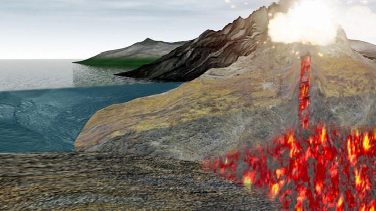 Wie Entstehen Vulkane