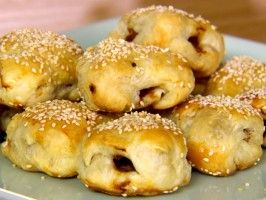 Roast Pork Pastry Puffs : Recipes : Ching-He Huang