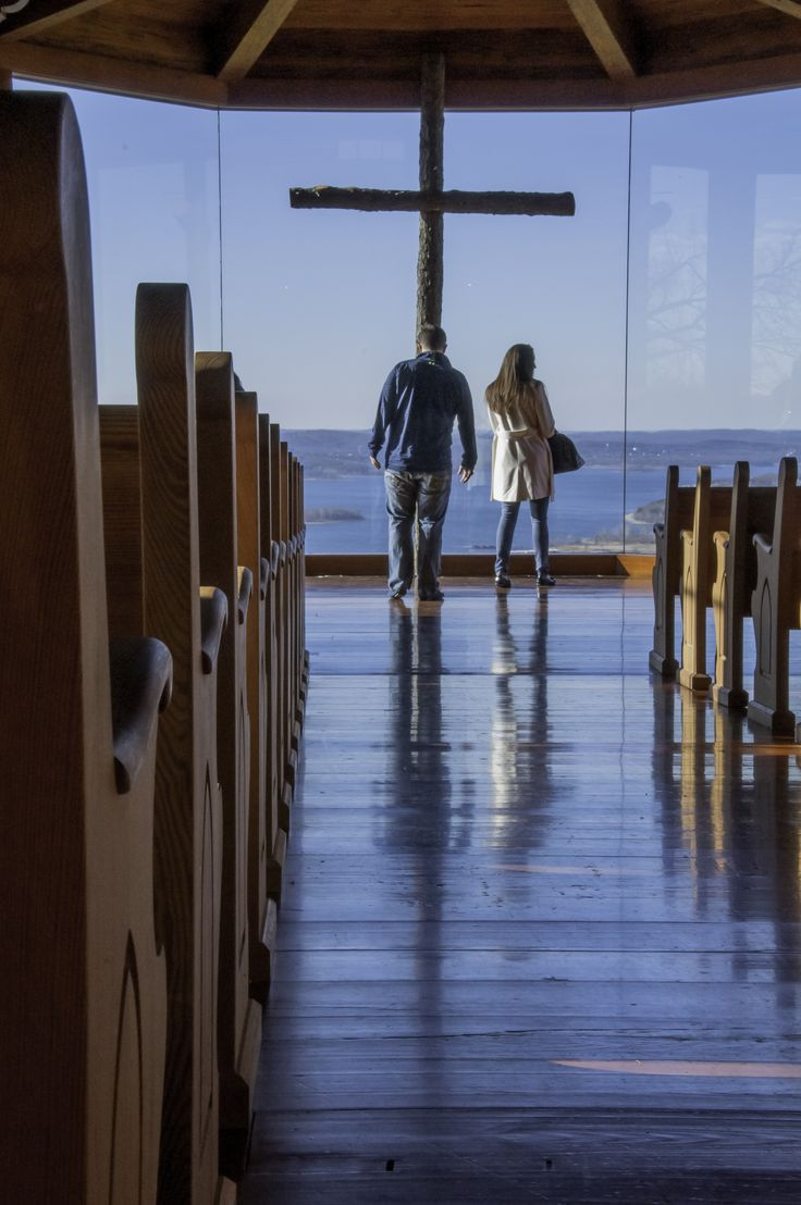Couple Perusing Chapel, Top of the Rock, Ridgedale, Missouri | ~My ...