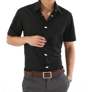 DO. (The buttons? That's your call, but this is an acceptable shirt if ironed…