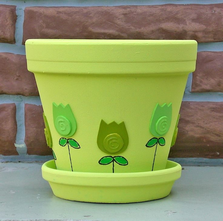 Flower Pot Idea                                                                                                                                                                                 Más