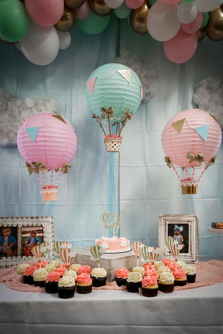 #hotairballoon #hotairballoonparty #firstbirthday # ...