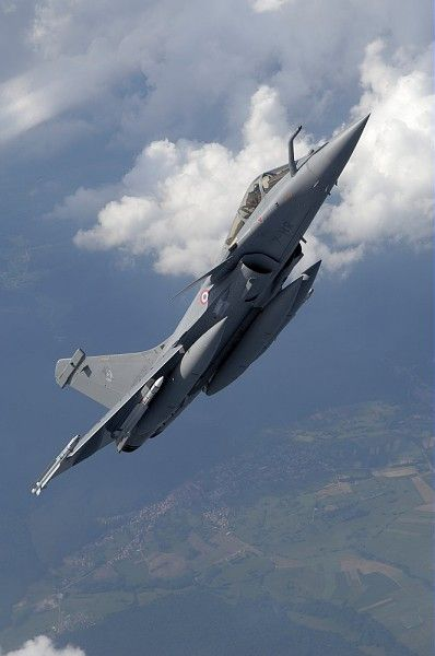 French Armée de l'Air Dassault Rafale.