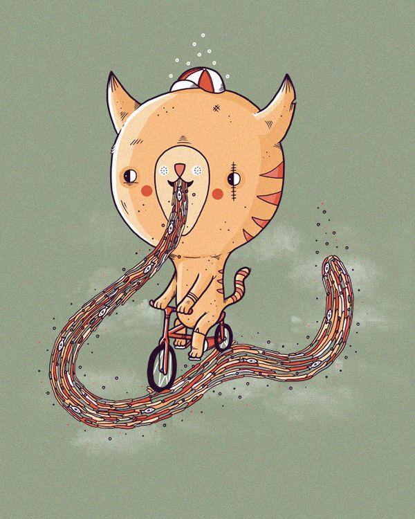 Randy Otter's Illustrations