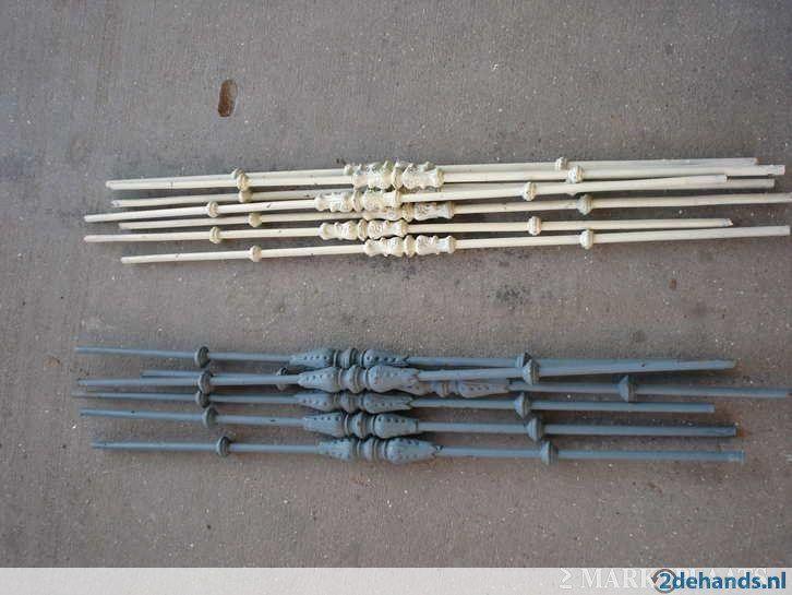 Gietijzeren trapspijlen ijzeren - houten spijlen leuningen