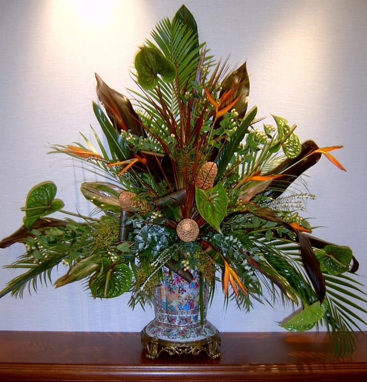 Tropical corporate design