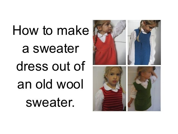 sweater-dress-slide-show by recovergirl via Slideshare