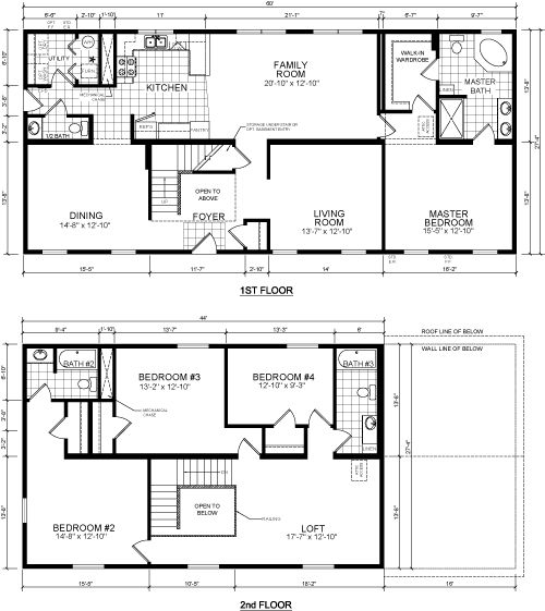 18 Best Manufactured Home Plans Images On Pinterest Floor Plans House Floor Plans And