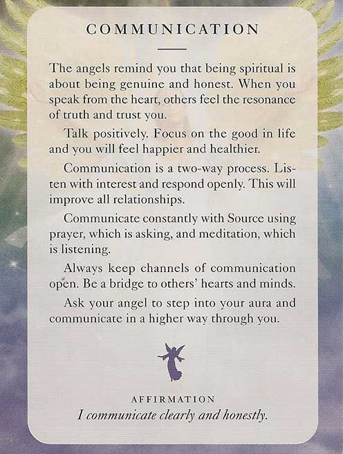 Today's Angel Card