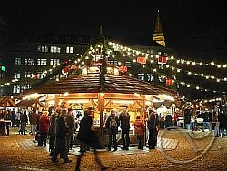 Christmas Market in Kiel, Germany
