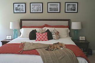 Master Bedroom Update- Chihuahua photobomber