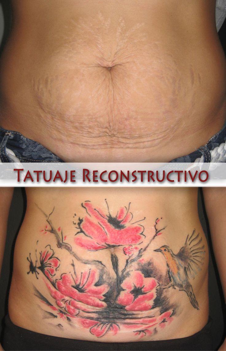 Tattoo zijkant vrouw