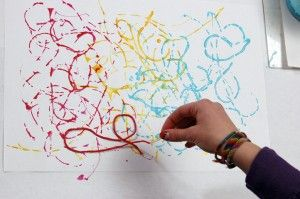 Art Lab for Kids: String printing