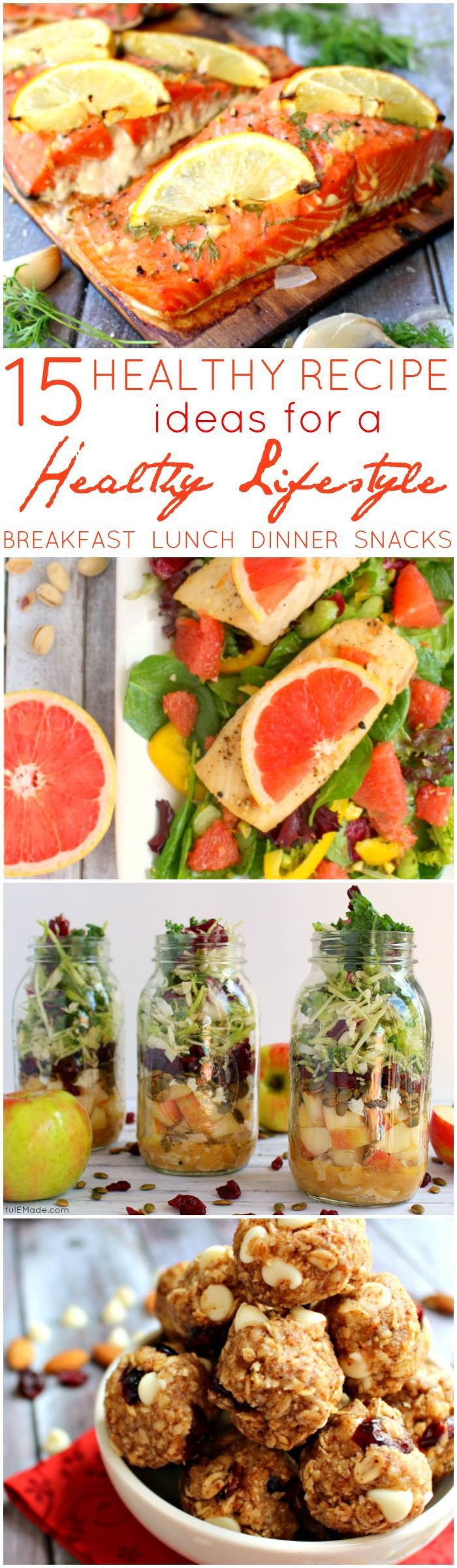 Looking to start a weight loss journey or maybe just need to add some healthier meal options into your everyday routine?  These 15 simple, easy and fresh recipes are just as satisfying as they are delicious!  Great for jump-starting your healthy New Years