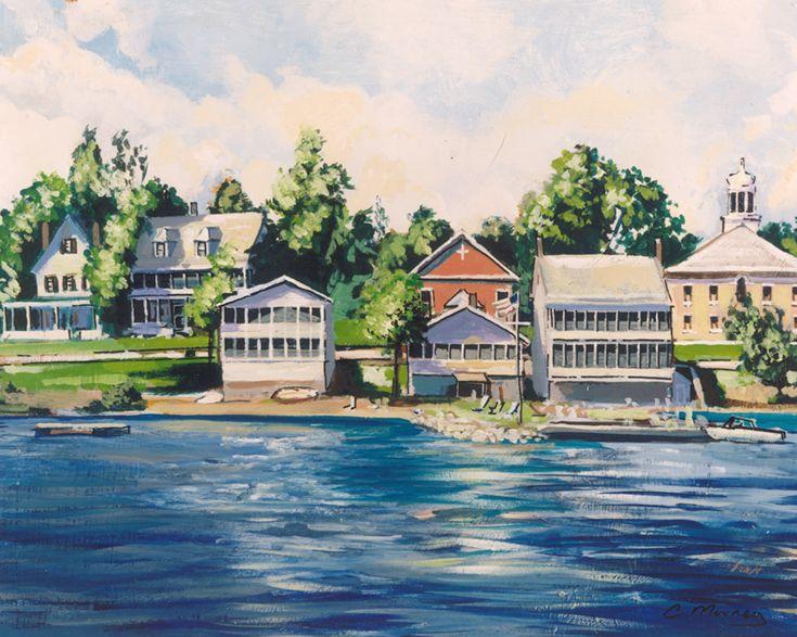 Delightful 24 room, full service Inn on the shores of Vermont's Lake Champlain.  #innforsale #VT