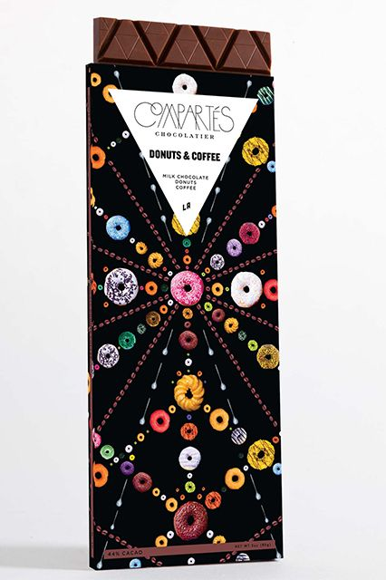 """Really Rad Holiday Gifts, Courtesy Of The Coolest People In L.A. #refinery29  http://www.refinery29.com/los-angeles-luxury-gifts#slide8  Claire's Steal:  """"A coffee and donuts candy bar, are you kidding me?! Jonathan's chocolates are always crazy good, but he has outdone himself with his latest line of chocolate bars. Sleek, stylish, and delicious, they are the perfect stocking stuffer, holiday party gift, or personal gift."""""""