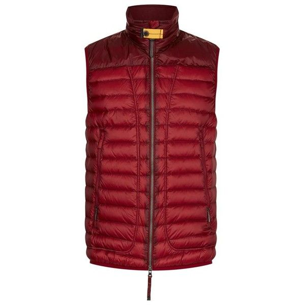 Parajumpers Daytripper Sully Gilet (€225) ❤ liked on Polyvore featuring men's fashion, men's clothing, men's outerwear, men's vests, mens lightweight vest, mens quilted vest, mens multi pocket vest and mens insulated vest