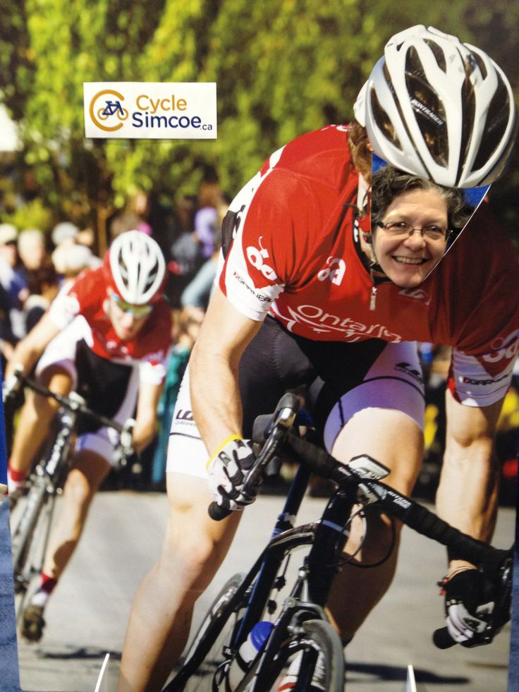 More fun at the www.cyclesimcoe.ca booth