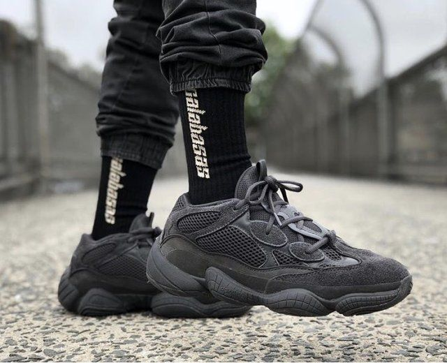 buy popular 89313 99233 Adidas yeezy 500 'utility black' - Euror | Adidas originales ...