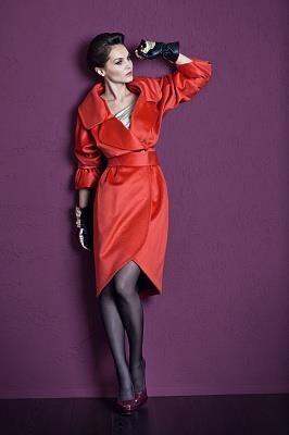 Красное пальто в москве купить