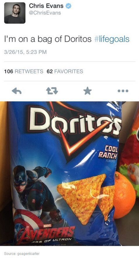 By the Doritos man himself