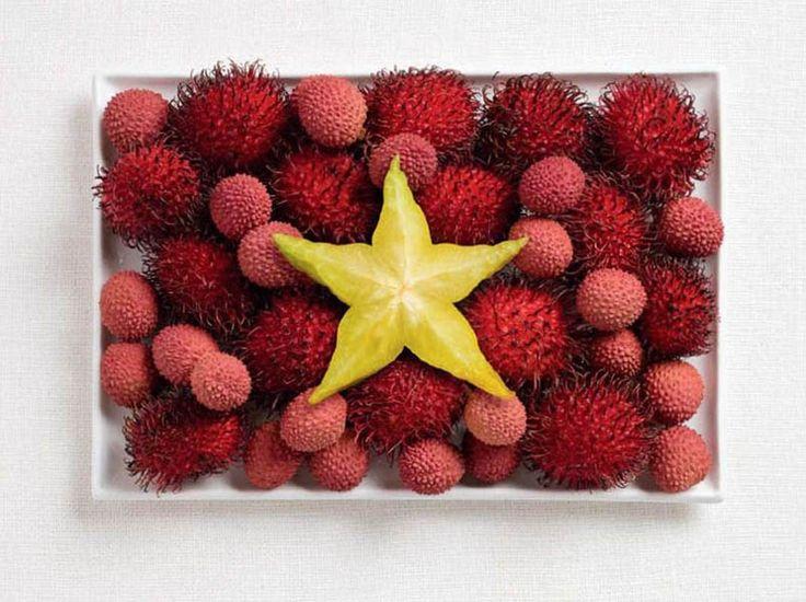Vietnam – rambutan, lychee and starfruit