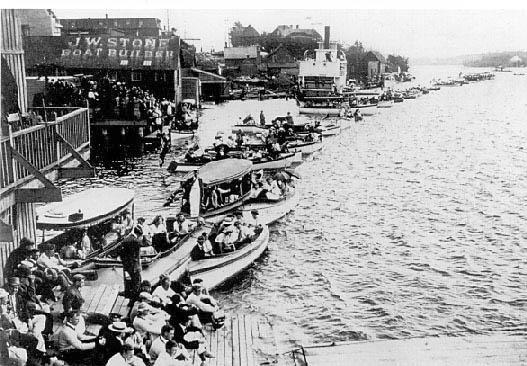 J.W. Stone Boat Builder. Kenora, Ontario! <3
