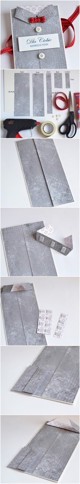 shirt card tutorial