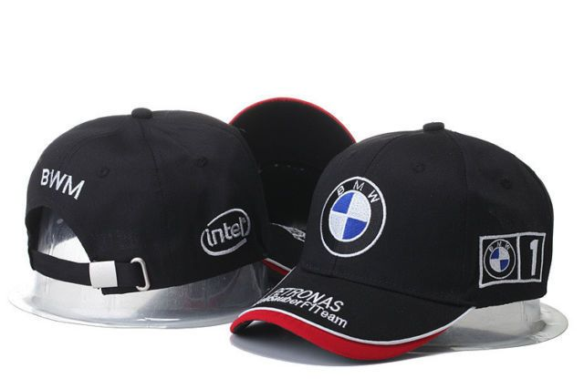 8a9926eac BMW Baseball Cap Hats Car Logo Racing Snapback Black Adjustable ...