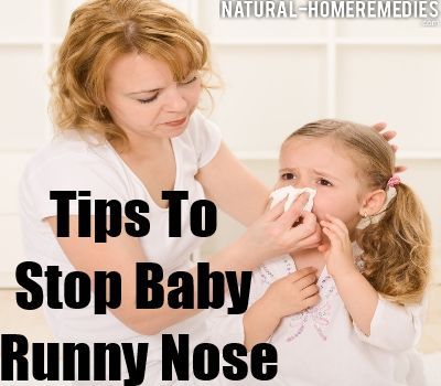 Baby Runny Nose – How To Stop
