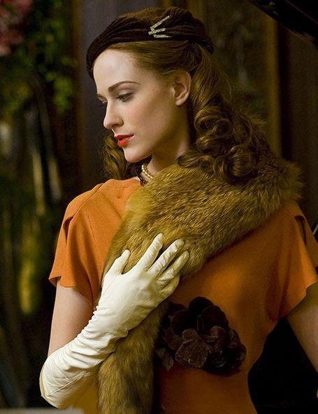 Evan Rachel Wood as Veda in Mildred Pierce