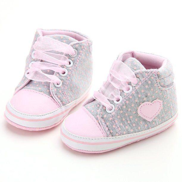 Fymall - Newborn Baby Girls Laces High