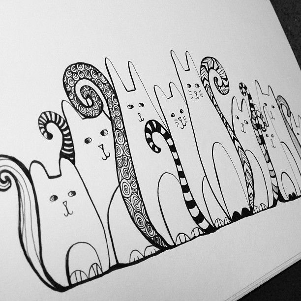 Zentangle kitties is artistic inspiration for us. Get extra photograph about Residence Decor and DIY & Crafts associated with by taking a look at pictures gallery on the backside of this web page. We're need to say thanks in case you wish to share this publish to a different individuals …
