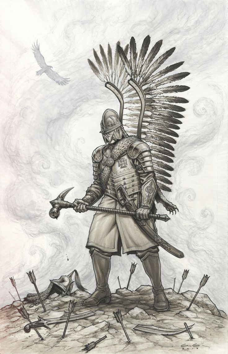 Polish Hussar Warrior
