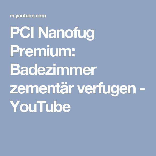 PCI Nanofug Premium: Badezimmer Zementär Verfugen   YouTube