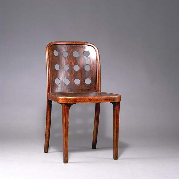 josef hoffmann beechwood chair for thonet 1929. Black Bedroom Furniture Sets. Home Design Ideas