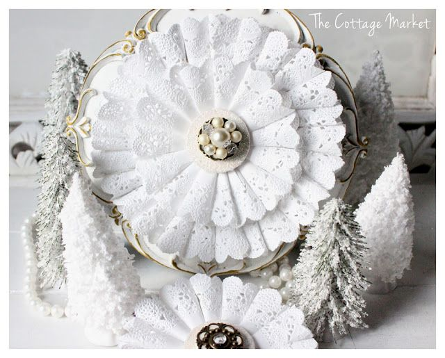White Christmas DIY…Magazine Feature and more