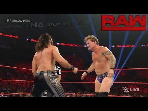 WWE RAW 9/5/16 Seth Rollins vs. Chris Jericho - WWE Raw September 5 2016