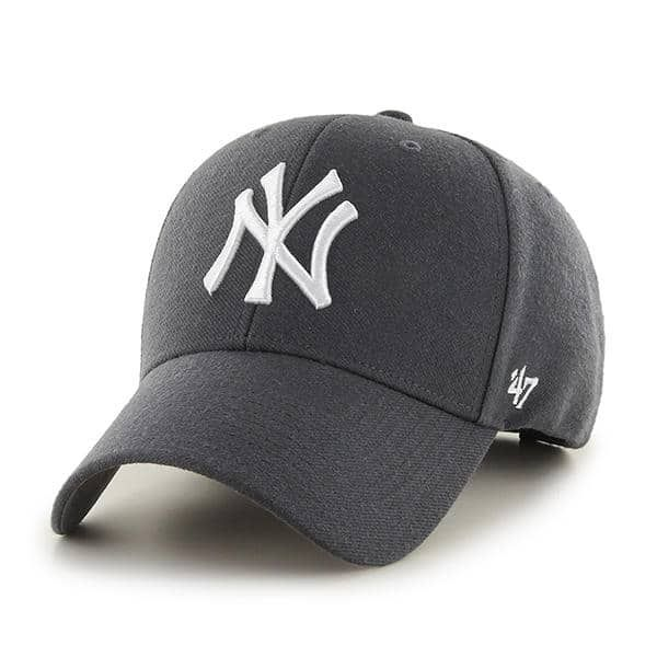 cheap for discount b88a6 1e704 New York Yankees MVP Charcoal 47 Brand Adjustable Hat