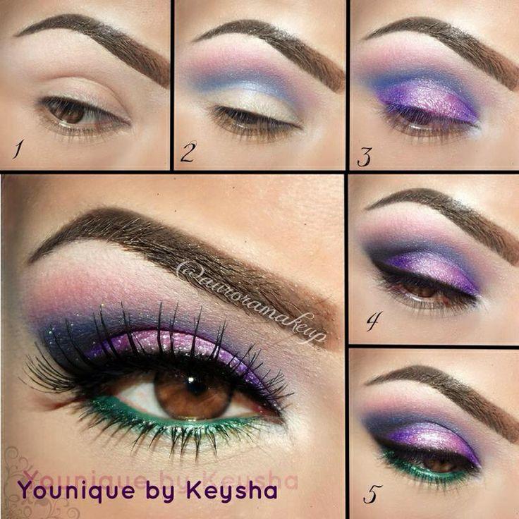 Eye pigments #Younique #eyepigments #3DFiberlash www.Youniqueproducts.com/JenniferPearl